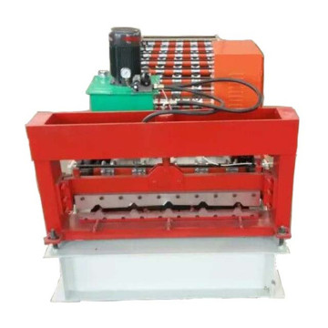 zinc roofing sheet roll forming construction machine
