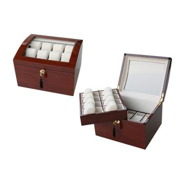 High Quality Two Layers Watch Box