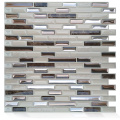 Smart self-adhesive peel and stick subway tile