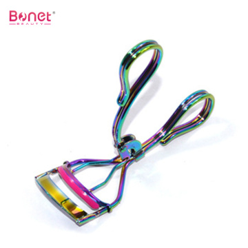 Beauty Colourful titanium High Quality Metal EyeLash Curler