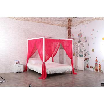 Elegant Mosquito Net Set Four Corner Bed Canopy