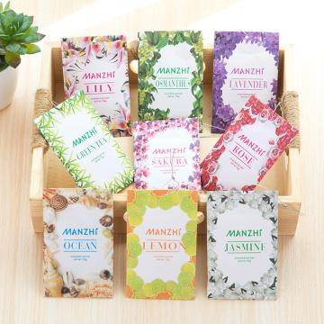 1 PCS Natural Smell Aromatherapy Sachets Incense Wardrobe Mold Moth Dehumidifying Sachet Bag Lavender Rose Lily Fresh Air