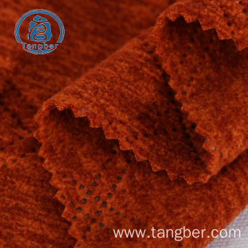 knitted 100% polyester wholesale silky furry fleece fabric