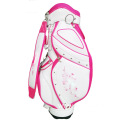Embroidered golf bag with studs golf stand bag