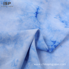 100% Viscose Challis&Poplin Tie Dyed Fabric For Dresses