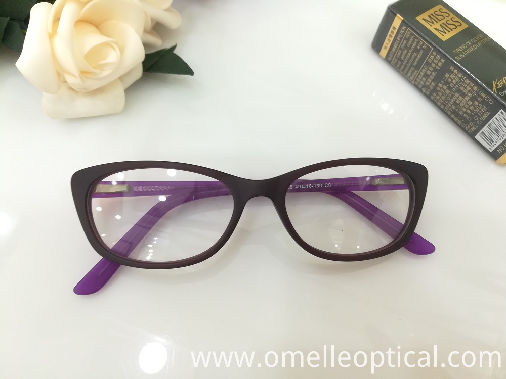 Oval Optical Glass