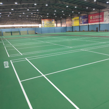 badminton court professional pvc sports floor