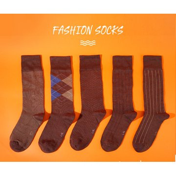 Business modal sock for men-brown 5
