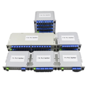 1x2 to 1x64 Fiber Optic Insertion Splitter