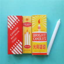 Cheap Good Quality White Pillar Wax Candles