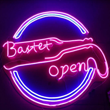 LED NEON BAR LAMPU SIGN TERBUKA