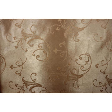 100% Polyester Jacquard Poly Satin Fabric