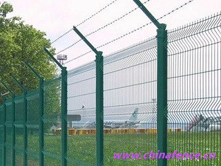 Triangle Bending High Security Fence