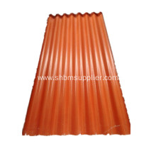 Anti-corrosion  Longlife Service Roofing Sheet