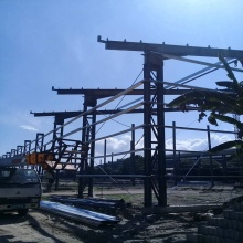 Prefabricated Steel Frame Structure 30x30 steel building