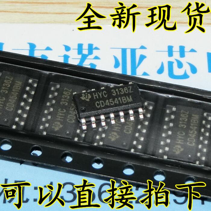 10pcs/lot New CD4541 CD4541BM HEF HCF Programmable Oscillator Timer Patch SOP-14