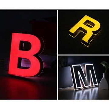 Plastic Letters for Outdoor Signs Lighted Sign Letters