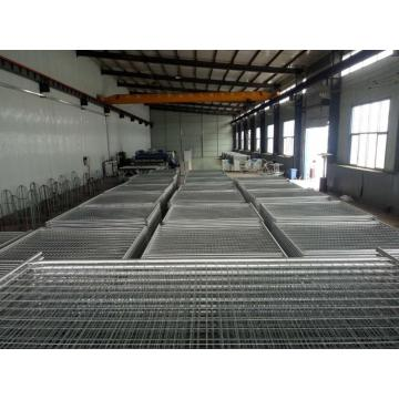 welded wire mesh temporary fence stay