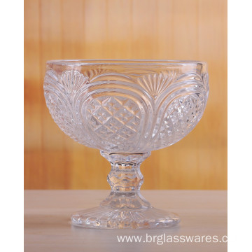 Beautifully Crafted Crystal Glass Ice Cream Bowls