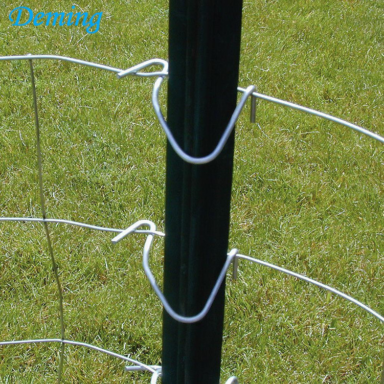 Durable Steel Y Shape Star Fence Post