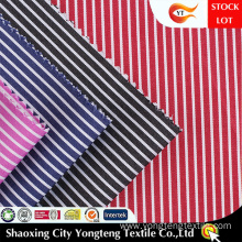 Woven Stripe Fabric For Office Shirt