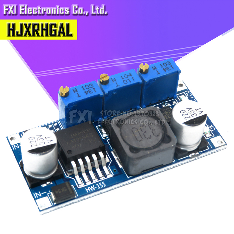 LM2596 LED Driver DC-DC Step-down Adjustable CC/CV Power Supply Module Battery Charger Adjustable LM2596S Constant Curren