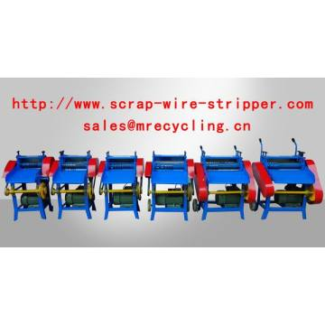 Homemade Scrap Wire Stripping Machine Tool