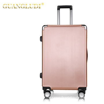Hardside spinner luggage suitcase with factory price