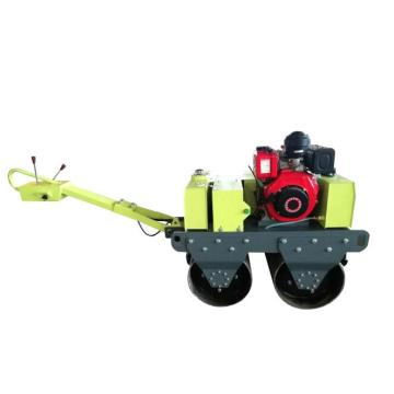 New design double steel wheel road roller