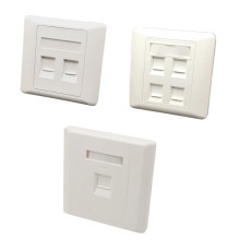 86 Type 1/2/4 Ports Computer Socket Panel Cable Interface Outlet RJ45 Network Module Wall Plate information Computer Faceplate