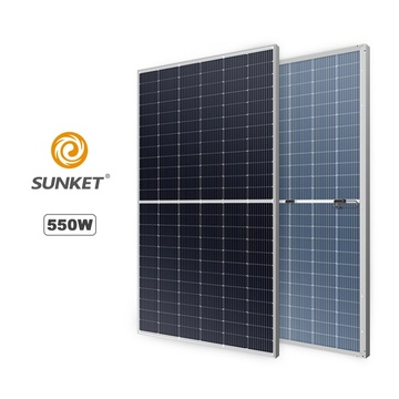 Economical high efficiency 500W cheap solar panel price