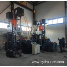 Powder Briquette Press Making Machine For Aluminum Foil