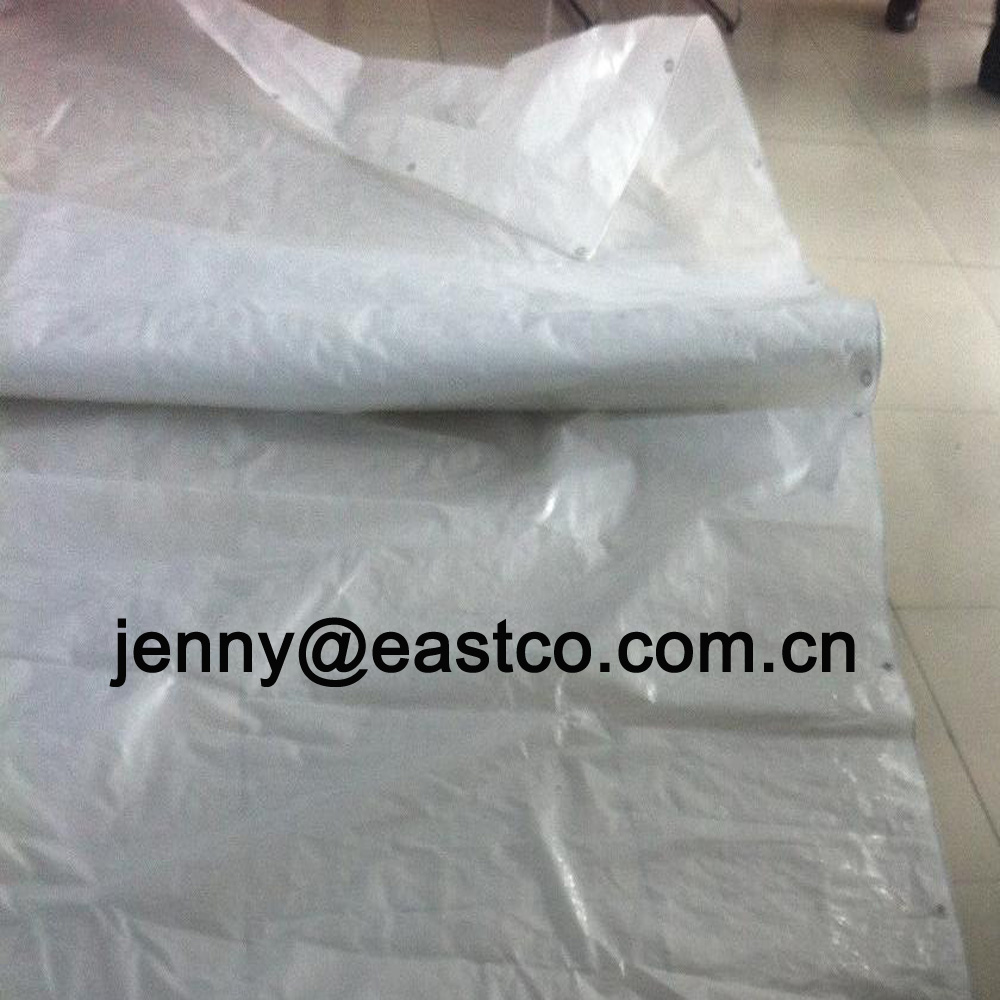 Clear Transparent Ready Made Woven Tarpaulin Sheet