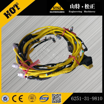 PC450-8 excavator engine wiring harness 6251-31-9810