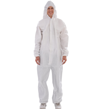 Reusable Ppe Safety Isolation Security Hazmat Coverall