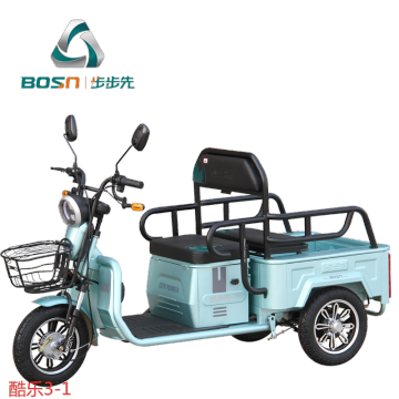 Electric tricycle for the disabled