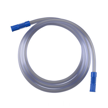 single-use sputum suction tube with yankauer handle