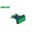 Rectangle Green Push Button Switch lamp