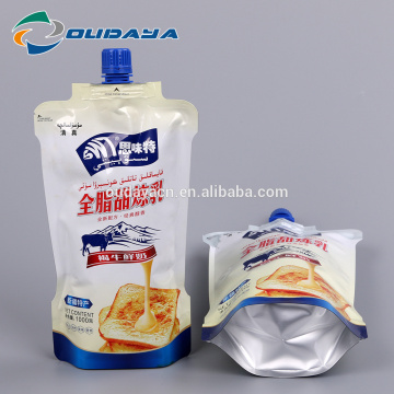 Plastic Milk Packaging Pouch