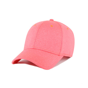 Heather fabric breathable and light weight outdoor cap