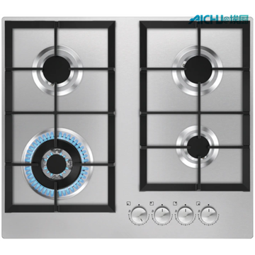 AEG Gas Cooker Stainless Steel