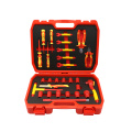 27pc 3/8 socket&screwdriver and plier set