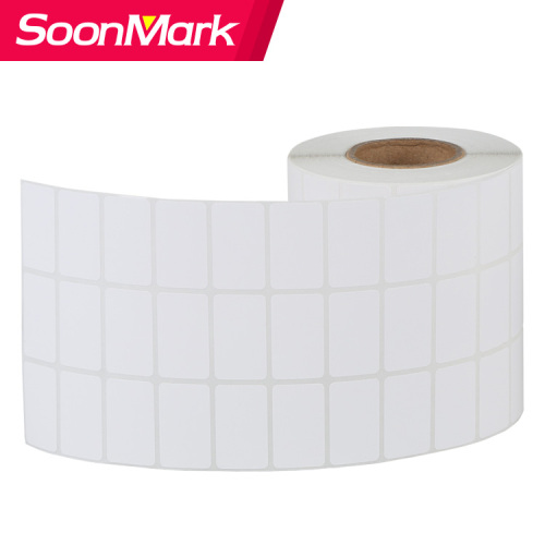 Tearproof Permanent Adhesive PP Synthetic Label Paper Rolls