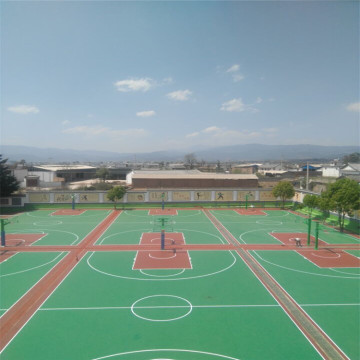 Basketball Court Rolled Flooring