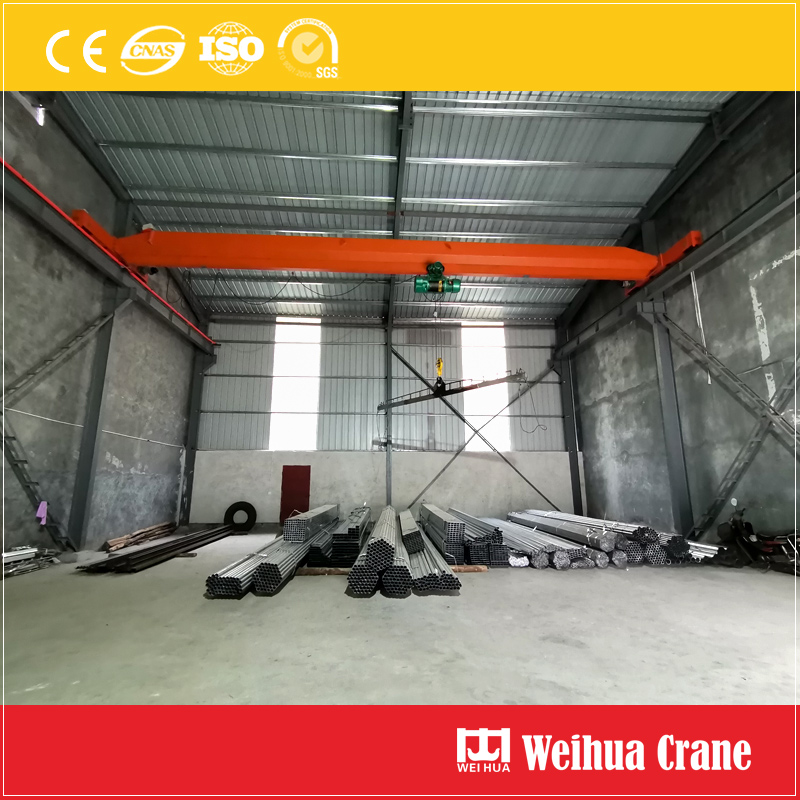 Steel Pipe Handling Single Girder Eot
