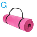 Eco-friendly Anti Slip NBR Yoga Mat For Exercise