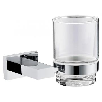 Hotel Style Square Series Glass Holder With Cup