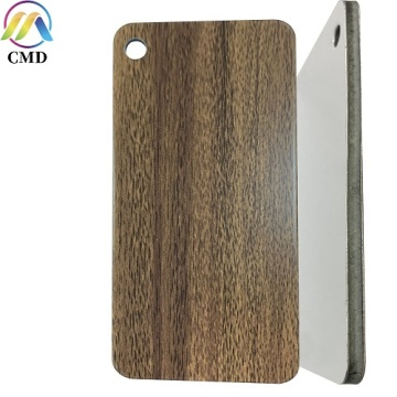Sydney Spotted Gum/High Gloss White ACP Sheet