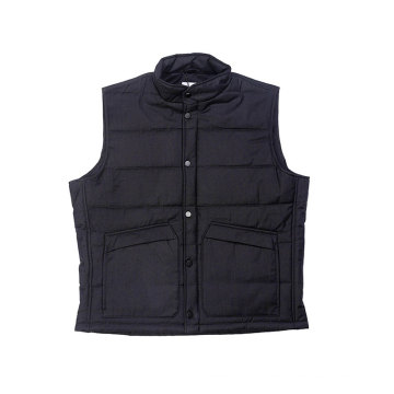 Good handfeeling Men`s padding vest