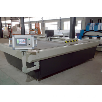 straight knife fabric cutting machine with automatic feeder
